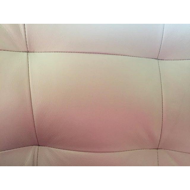 Modern White Leather Sofa - Image 6 of 7