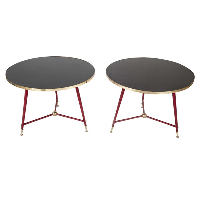 Pair Of Jules Leleu Side Tables For Sale - Image 13 of 13