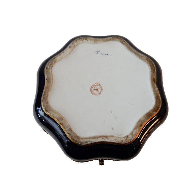 19th-C French Porcelain Dresser Box - Image 5 of 10