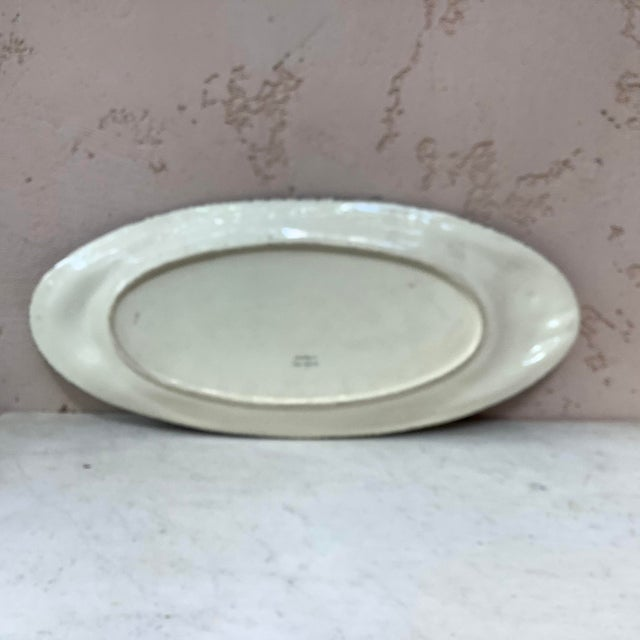 1940s 1940s French Faience Fish Platter Henriot Quimper For Sale - Image 5 of 8