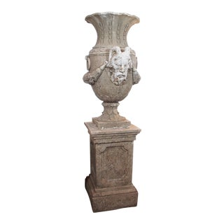 Pair of 19th Century French Stone Urns