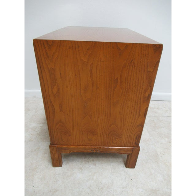 1980s Vintage Century Furniture Asian Inspired Sobota Bachelors Chest For Sale - Image 9 of 13