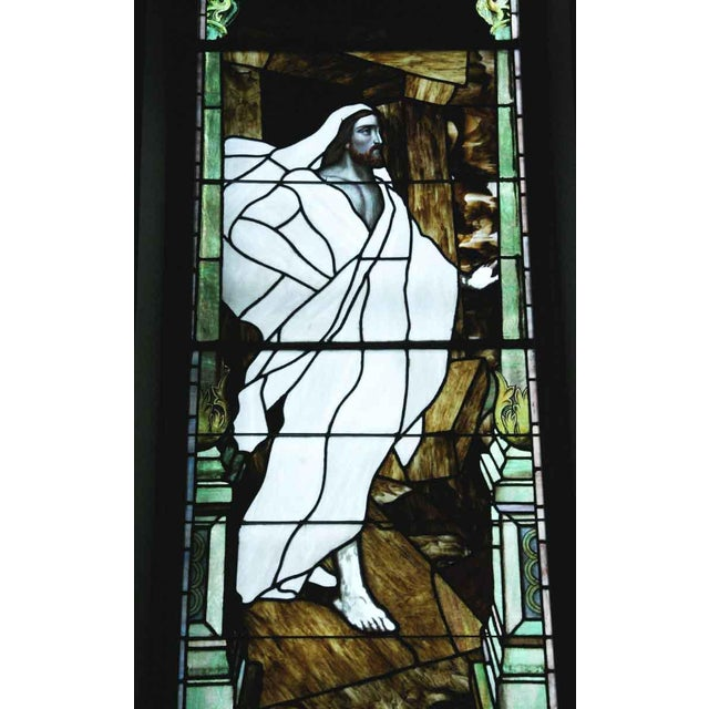 """The Resurrection"" Stained Glass Window For Sale - Image 5 of 6"