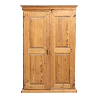19th Century Rustic Wooden Cabinet/Wardrobe For Sale