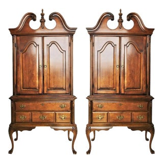 Gorgeous Chippendale Cabinets - A Pair For Sale