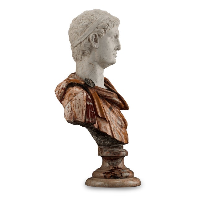 17th Century 17th-Century Italian Portrait Busts For Sale - Image 5 of 11