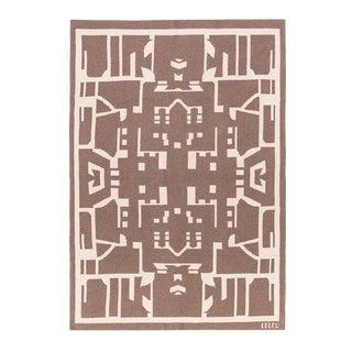 Maison Leleu - Totem Natural Cashmere Blanket, 51' X 71' For Sale