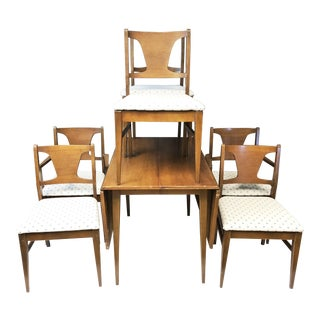 Mid Century Danish Modern Dining Set For Sale