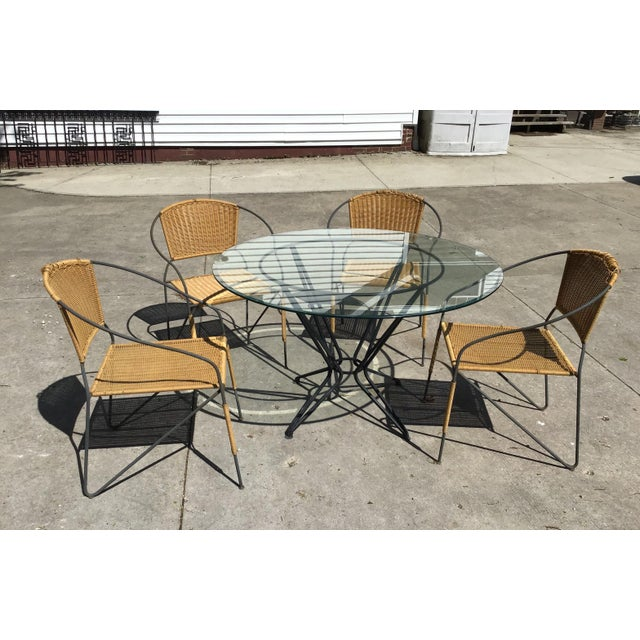 Maurizio Tempestini by Salterini Patio Table Chairs Dining Patio Last Call For Sale - Image 13 of 13
