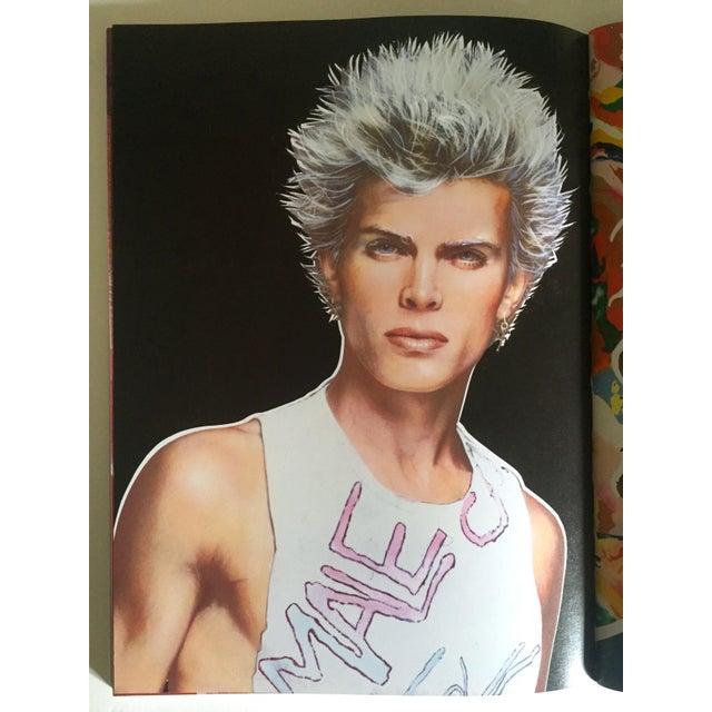 "Richard Bernstein 1984 Rare 1st Edition ""Megastar"" Pop Art Oversized Collector's Book For Sale - Image 5 of 11"