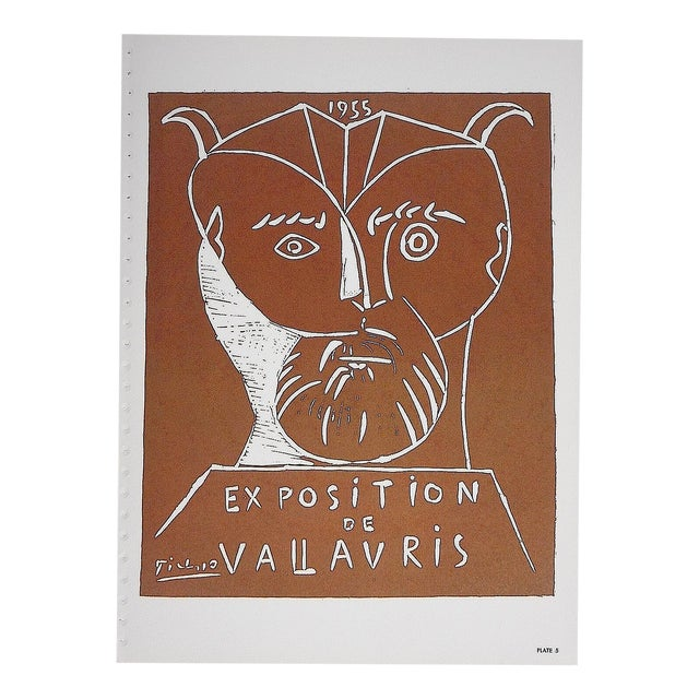 Vintage Picasso Lithograph Folio Size C.1957 - Image 1 of 4