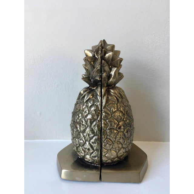 Palm Beach Regency Pineapple Bookends - a Pair - Image 3 of 4
