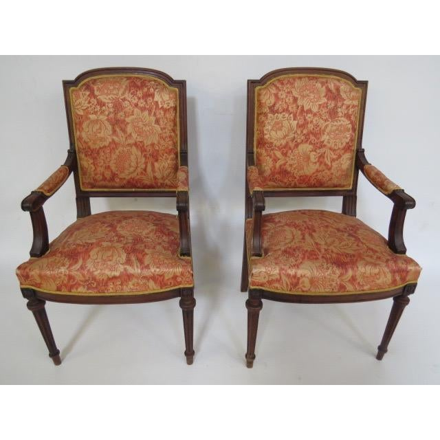 1900's Louis XVI Chair For Sale - Image 4 of 8