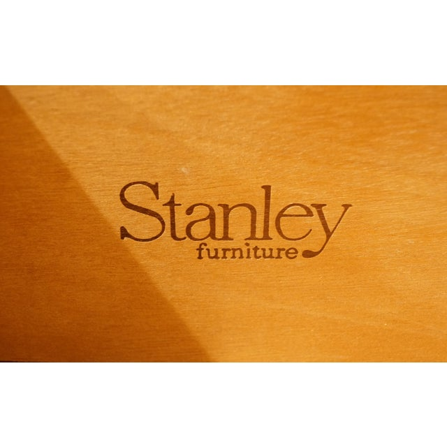 Wood 20th Century Italian Stanley Furniture Door Chest/Armoire For Sale - Image 7 of 13