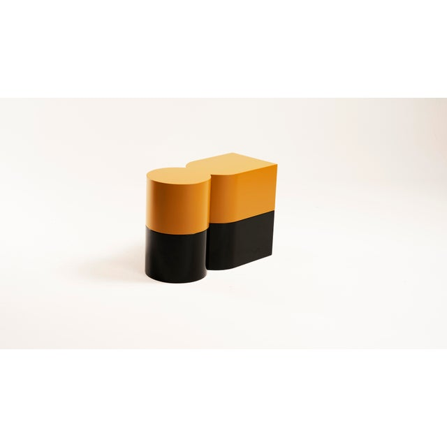 Jason Mizrahi Cadoro Punto Side Tables by Jason Mizrahi For Sale - Image 4 of 5
