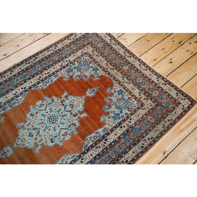 """Fine Antique Haji Jalili Tabriz Rug - 3'11"""" X 5'10"""" For Sale - Image 12 of 13"""