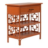 Image of Sobe End Table - Orange For Sale