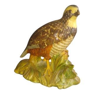 Vintage Quail Bird Pheasant Figurine For Sale
