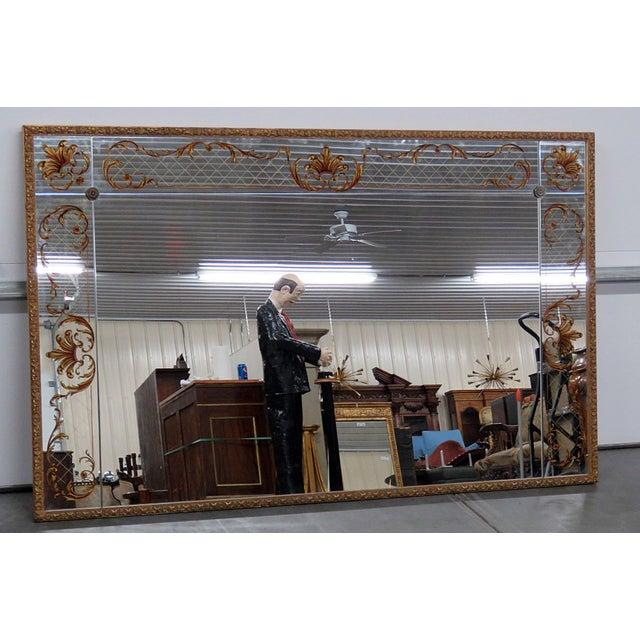 Regency Style Eglomise Mirror For Sale In Philadelphia - Image 6 of 6
