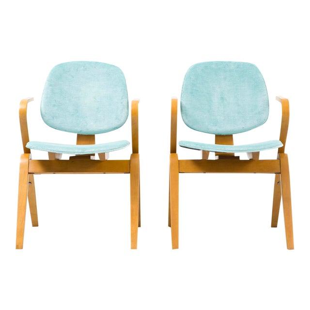 Set of Joe Atkinson Chairs - Image 1 of 11