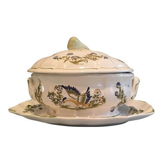 1960s French Provincial Soup Tureen For Sale