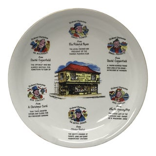 Charles Dickens Characters Display Plate For Sale