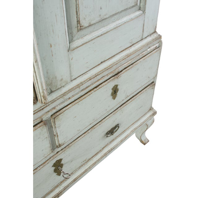18th C. Swedish Rococo Cabinet For Sale In New York - Image 6 of 10
