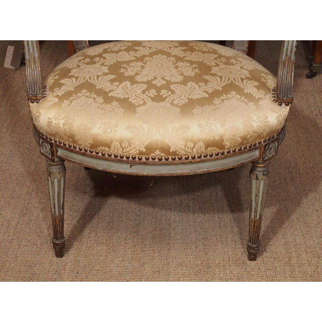 Wood 18th Century Set of Six Transition Armchairs Stamped F.Geny For Sale - Image 7 of 11