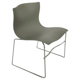 Twenty Massimo Vignelli Handkerchief Chairs for Knoll in Gray For Sale