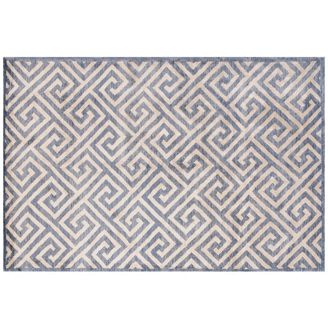 STARK Contemporary New Oriental Tibetan Silk Rug To care for your rug, it's best to have your rug cleaned by professionals...