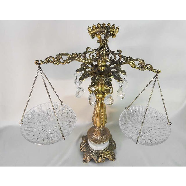 Vintage Brass Scales of Justice - Image 3 of 6