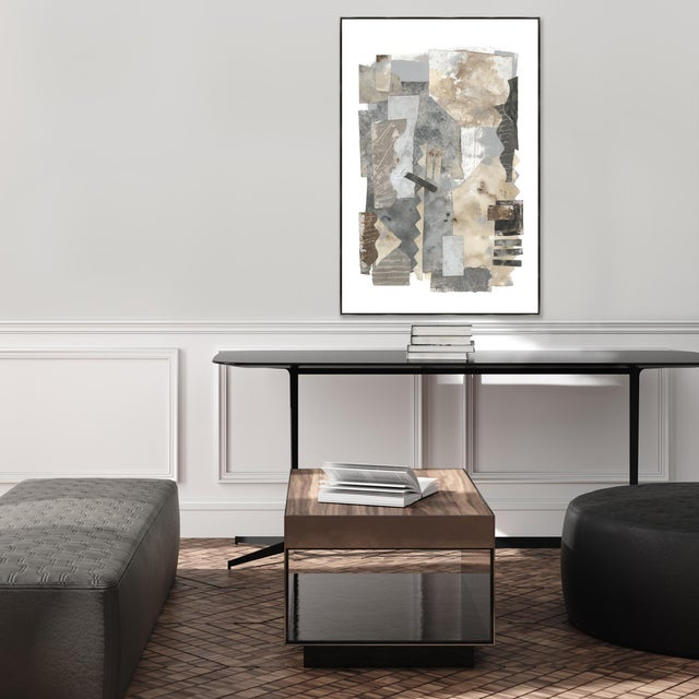 A fabulous on trend, wonderfully colored gallery-wrapped giclee print on canvas by artist Richard Ryder. It is hand...