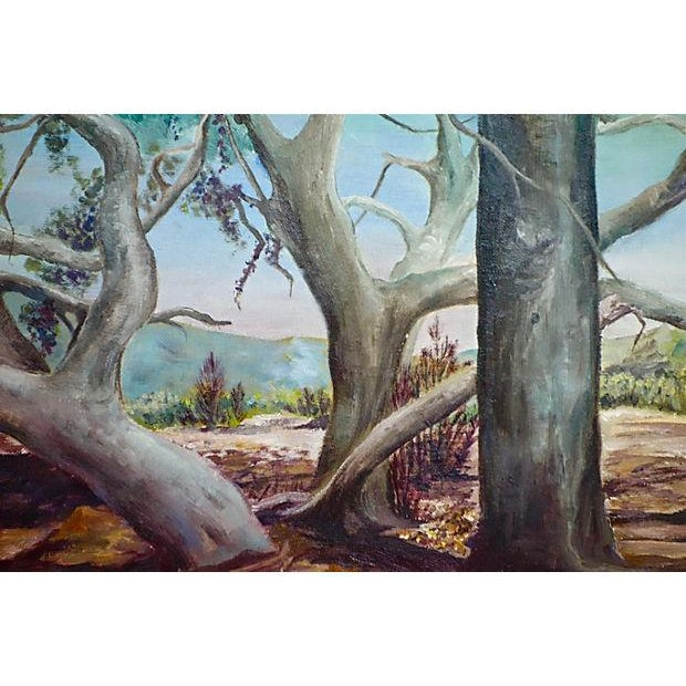 Study of Trees Painting - Image 6 of 6