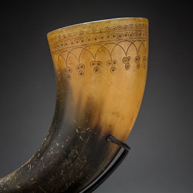 Persian Horn Rhyton For Sale - Image 4 of 5