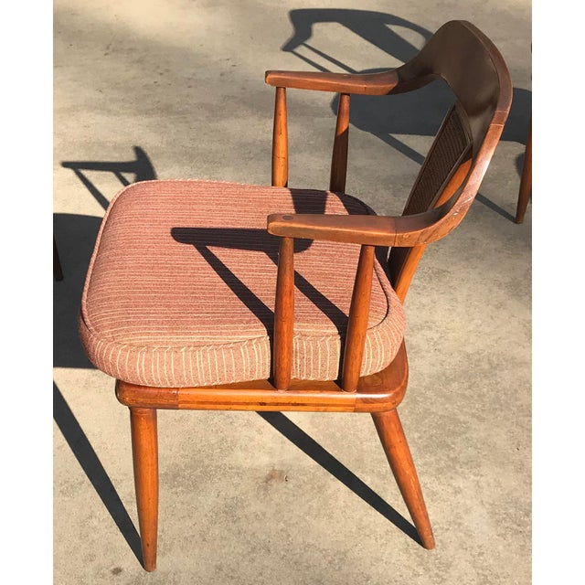 Brown Tomlinson of High Point Mid Century Dining Chairs - Set of 4 For Sale - Image 8 of 13