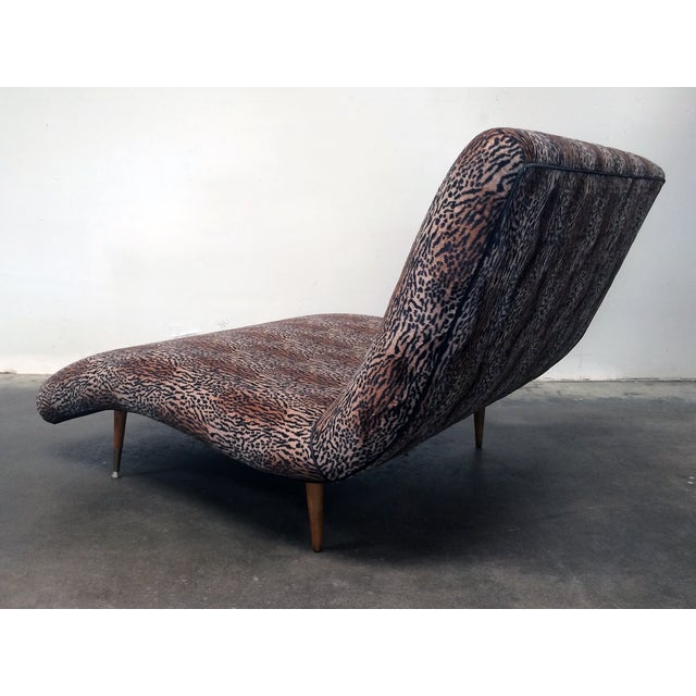 Modern wave chaise longue chairish for Chaise longue for sale ireland