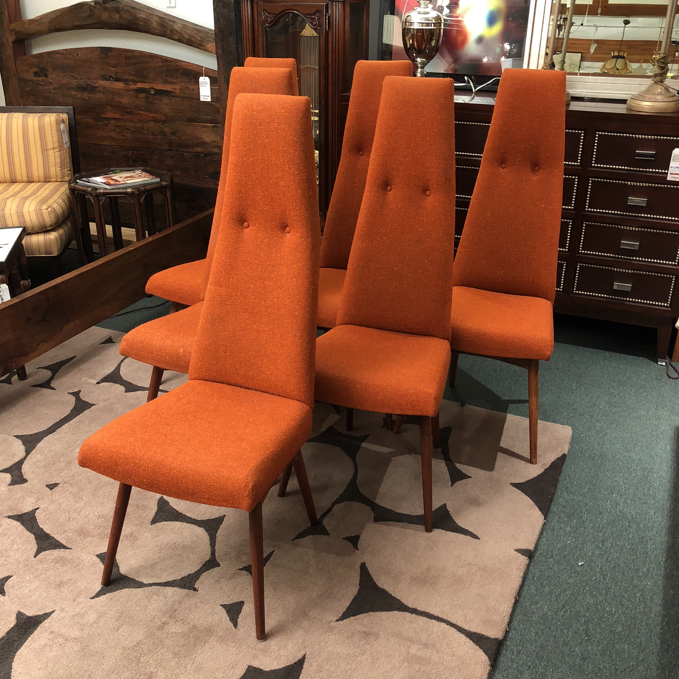 Adrian Pearsall Dining Chairs By Craft Associates   Set Of 6   Image 2 Of 10