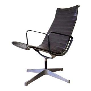 Mid Century Modern Vintage Herman Miller Aluminum Group Lounge Chair For Sale