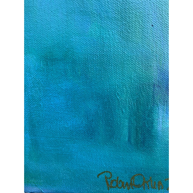 """Contemporary Figurative Painting by Robin Okun Art, """"Over Here"""" For Sale - Image 10 of 11"""