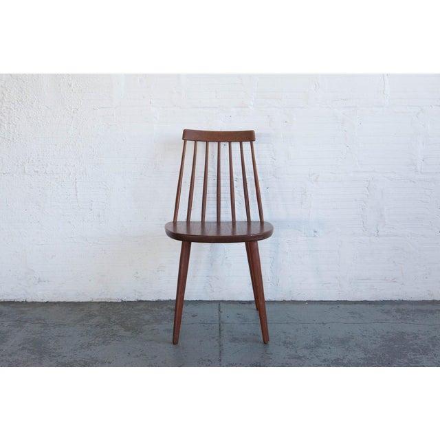 Yngve Ekström Yngve Ekström Swedish Spindleback Teak Dining Chairs - Set of 4 For Sale - Image 4 of 10