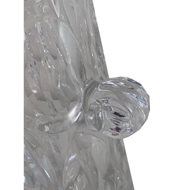 Metal Vintage 1970s Lead Crystal Ice Bucket For Sale - Image 7 of 9