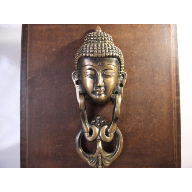 Brass Buddha Door Knocker For Sale In New York - Image 6 of 6