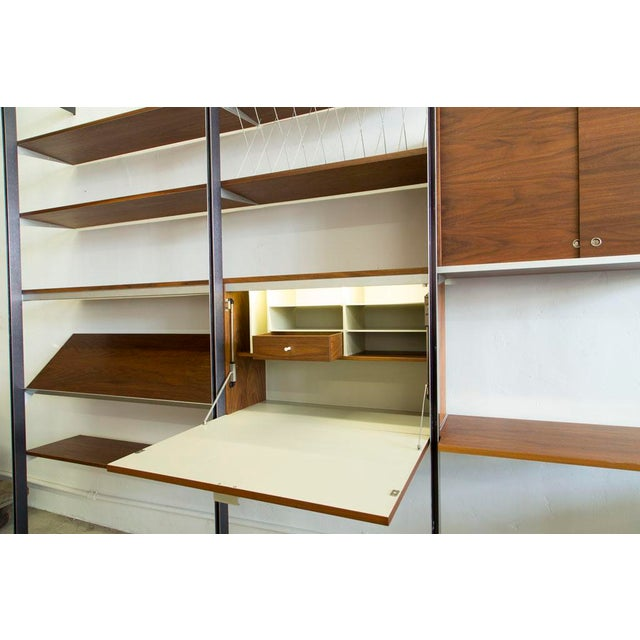 Wood George Nelson for Herman Miller CSS Wall Unit For Sale - Image 7 of 9
