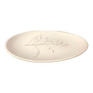 Russel Wright for Knowles Mid-Century Modern Botanica Platter For Sale