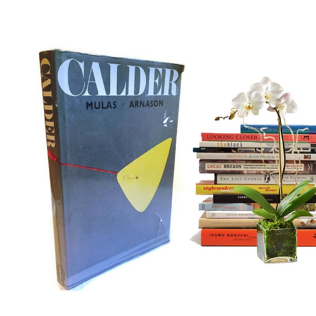 Fabulous Mid Century Modern Art Photography Book, featuring not only a showcase of Alexander Calder's Works, but...