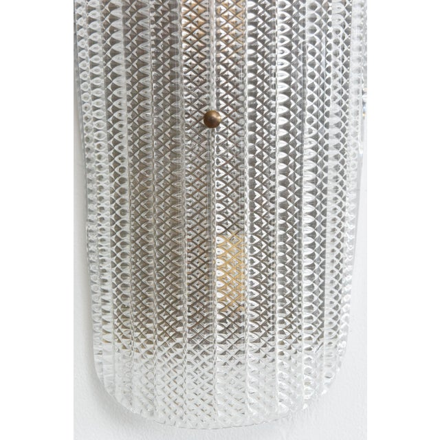 Modern A Set of 4 Large and Impressive Barovier and Toso Wall Sconces For Sale - Image 3 of 8
