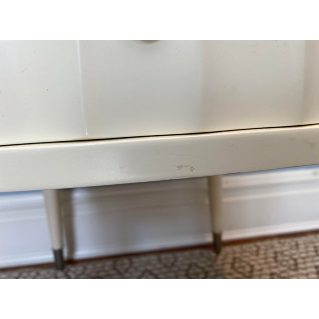 White Lacquer Barbara Barry Ladies Desk For Sale - Image 10 of 13