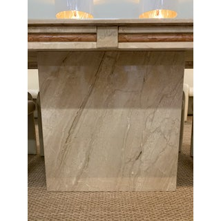 1980s Italian Marble Dining Table Preview