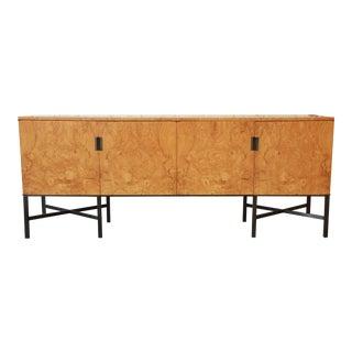 Dunbar Burled Olivewood Credenza For Sale