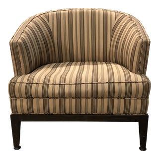Custom Barrel Back Arm Chair For Sale